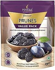 Rostaa Prunes 1 kg (Pack of 2)