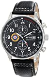AVI-8 Homme AV-4011-02 Hawker Hurricane Analog Japanese-Quartz Black Montre