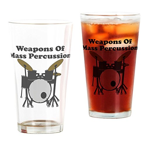 Weapons Of Mass Percussion - Pint Glass, 16 oz. Drinking Glass