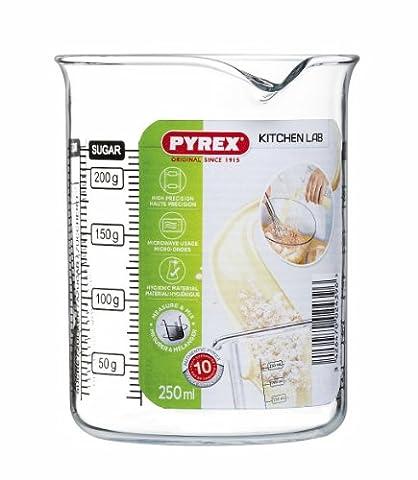 Pyrex - LABBK25/5040 - Kitchen Lab - Bécher Gradué - 0,25 L