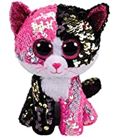Ty - Flippables - Malibu the Cat Sequin Soft Toy