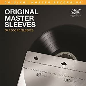 Mobile Fidelity ORIGINAL MASTER SLEEVES - 50 records Sleeves