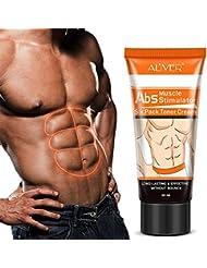 Crème de muscle abdominal de Bulary Men raffermissant le corps renforçant  le muscle de ventre serrant 60eb9cc4c89