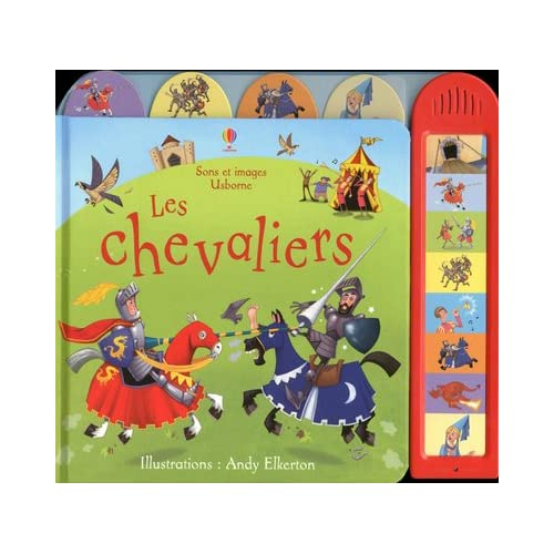 Les chevaliers - Son set images Usborne