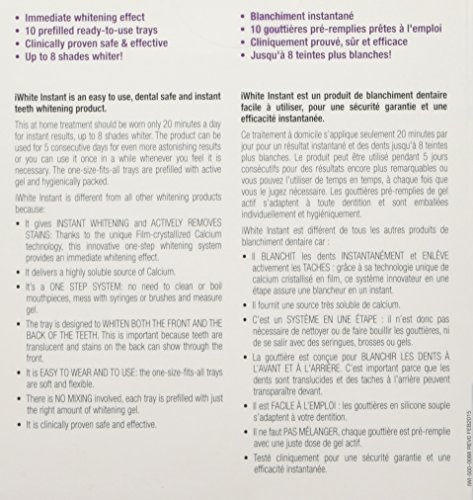 iWhite Instant Professional Teeth Whitening Kit