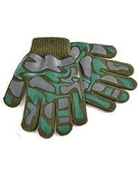Jungen Handschuhe mit Camouflage Muster