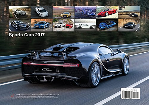 Livres Couvertures de Sports Cars 2017