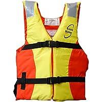 Lalizas Easy Rider Ayuda de Flotabilidad, Unisex Adulto, Naranja/Amarillo, 40 kg