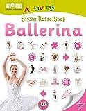 memo Activity. StickerRätselSpaß: Ballerina