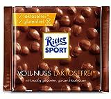 Ritter Sport Voll-Nuss laktosefrei, (1 x 100 g)