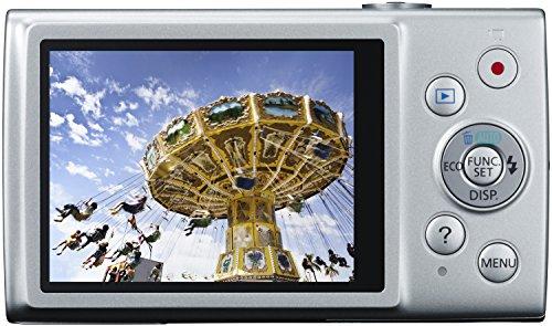 Canon IXUS 170 Digitalkamera (20 Megapixel, 12-fach optisch, Zoom, 24-fach ZoomPlus, opt. Bildstabilisator, 6,8 cm (2,7 Zoll) LCD-Display, HD-Movie 720p) Silber - 5
