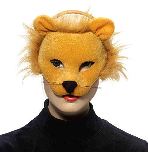 Forum Novelties Inc. Deluxe Plüsch Kostüm Tier-Maske - (Kostüme Löwe Deluxe Plüsch)