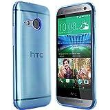 moodie Silikonhülle für HTC One Mini 2 Hülle in Blau - Case Schutzhülle Tasche für HTC One M8 Mini (Nicht für das normale M8 geeignet)