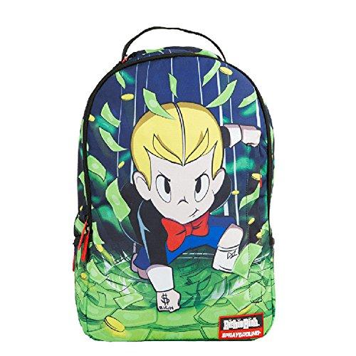 Sprayground Richie Rich Super Powers Backpack - Green