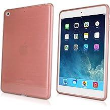Custodia per iPad Mini con display Retina, Boxwave® [vetreria cristallo slip] lucido, flessibile, a basso profilo custodia per Apple iPad Mini Retina, 3–oro rosa