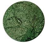 Pooja Creation Green marble Granite roti...