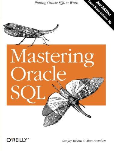 Mastering Oracle SQL por Sanjay Mishra