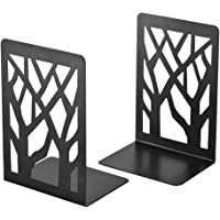 Spillbox Metal Non Slip bookends Book Shelves Holders case for Office, Home