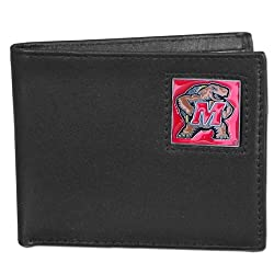 NCAA Maryland Terrapins Leather Bi-fold Wallet