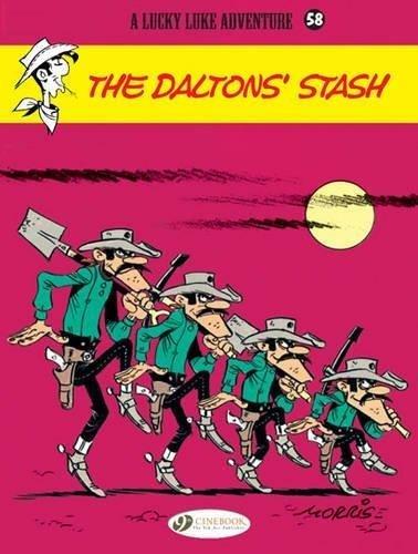 Lucky Luke Vol. 58: The Dalton's Stash (Lucky Luke Adventures) par Morris