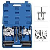 AllRight 12tlg. Set Lagerabzieher Set Universalabzieher Werkzeug Lager Abzieher inkl. Koffer