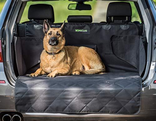 BOMICLAS Universal Kofferraumschutz Hunde Auto - Kofferraumdecke Ideal für deinen Hund - Kofferraumschutzmatte mit Seitenschutz für Kofferraum - Kofferraumschutzdecke Hund wasserdicht