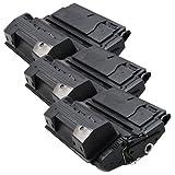 3 Toner XXL Schwarz für HP Q1338A 4200 4200DTN 4200DTNS 4200DTNSL PlatinumSerie
