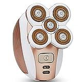 9302sonoaud Tondeuse à barbe de rasoir électrique rechargeable de 5 têtes de lame...