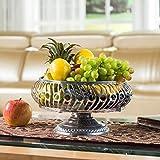Kreative Mode Moderne Wohnzimmer Kaffee Obst Luxus Große Speicherkapazität Rack Fruit Candy Dish Warenkorb