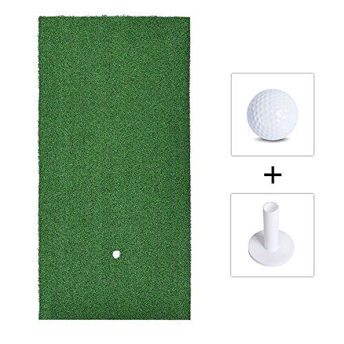 Tapis de golf, TEPSMIGO Tapis de pratique de golf (60cm x 30cm)