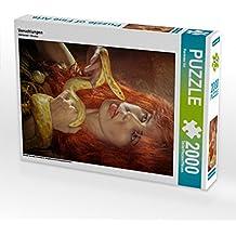CALVENDO Puzzle Verschlungen 2000 Teile Lege-Größe 67 x 90 cm Foto-Puzzle Bild von Ravienne Art