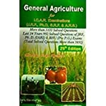 The 25th edition textbook is for students who are aiming to get admission into various agricultural programmes including Agricultural Scientific Research, Junior Research Fellowship, Senior Research Fellowship and Doctorate Programs. Written by Indi...