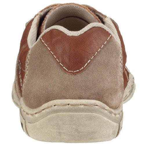 Rieker Alec 03414-60, Herren Sneaker Braun Kombi (Porzellan/Kaschmir)