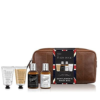 Baylis & Harding Fuzzy Duck Men's Ginger and Lime Travel Essentials Wash Bag Gift Set
