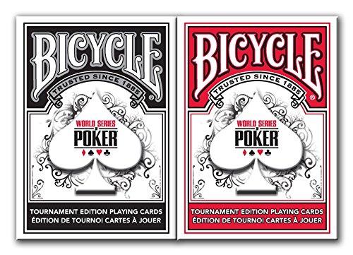 Bicycle Fahrrad World Series of Poker Spielkarten (2er Pack)