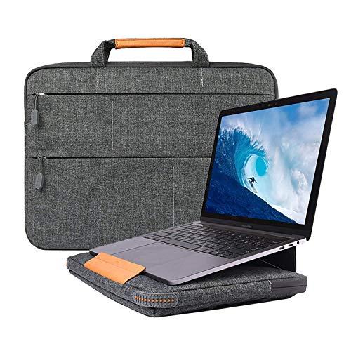 WIWU 13,3 Zoll Laptop Sleeve Aktentasche mit Ständer Funktionen für 13,3 MacBook Air/MacBook Pro Retina 2012-2015/13,5