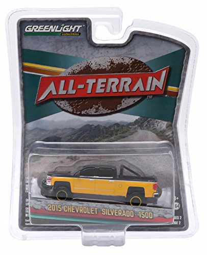 2015-chevrolet-silverado-1500-black-and-yellow-pickup-truck-all-terrain-series-2-1-64-by-greenlight-