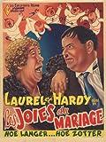 Laurel and Hardy–Les Joies du mariage