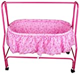 #10: Baby Grow Cradle Swing, with Attached Mosquito Net (Pink_207)