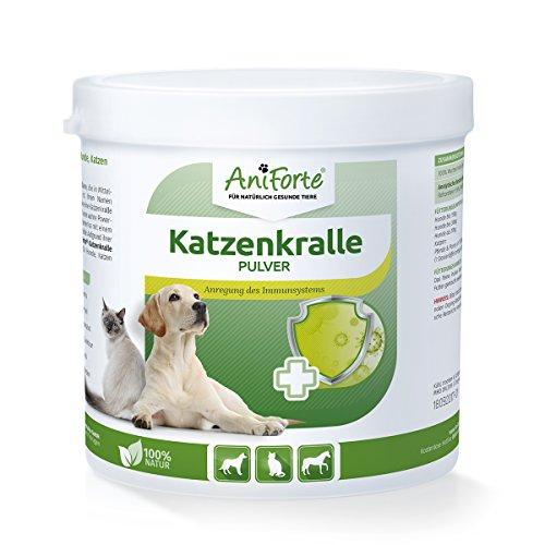 AniForte Katzenkralle Pulver 250 g für Hunde, Katzen und Pferde, Power-Pflanzen Boost für neue Energie und Lebensfreude