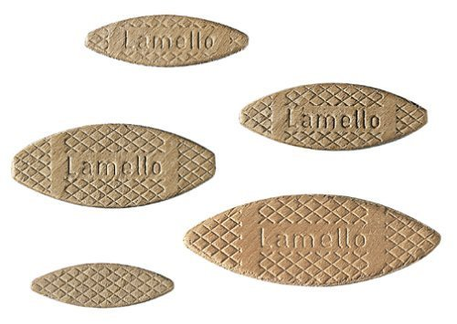 Lamello 144030 Box of 1000 Assorted Biscuits by Lamello