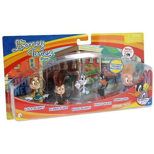 the-bridge-direct-looney-tunes-figure-bugs-bunny-lola-bunny-daffy-duck-porky-pig-and-elmer-fudd-by-t