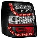 Dectane RV08ASLBL LED Rückleuchten Volkswagen Passat 3BG 00-04 LED Blinker, schwarz