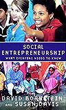 Social Entrepreneurship: What Everyone Needs to Know?