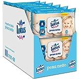 LOTUS BABY- Lingettes Peau Nette - 12 Packs de 64 (768 Lingettes)