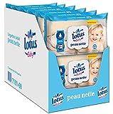 Lotus Baby Peau Nette - Lingette bébé - 12 paquets de 64 lingettes
