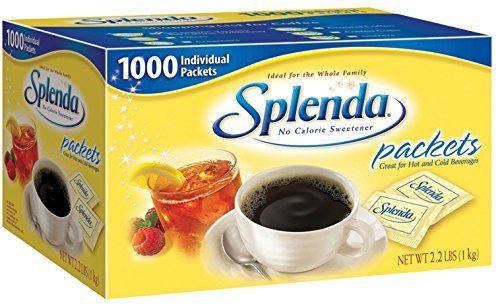 Splenda Sweetener - 1,000 Ct. Packets 1 Box by Splenda -