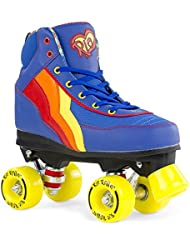 de Rio Roller Rio Roller Kids Quads Blueberry Blue Multi Kids 13uk