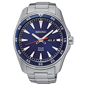 Seiko Men's Analogue Quartz Watch with Stainless Steel Bracelet – SNE391P1