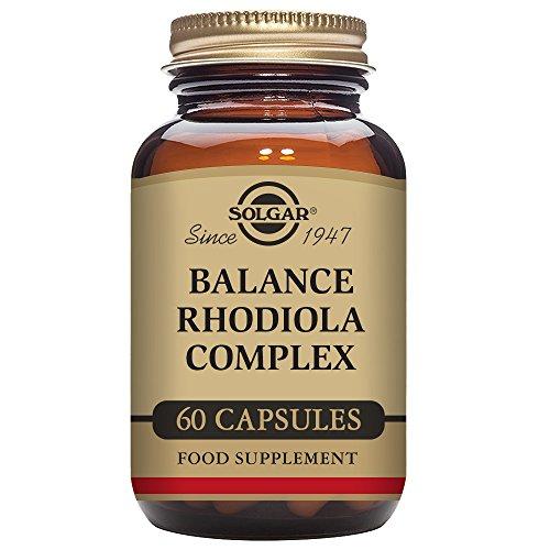 Solgar Balance Rhodiola Complex - 60 Cápsulas